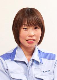 エヌイーシール(株)久米南工場勤務 井口さん